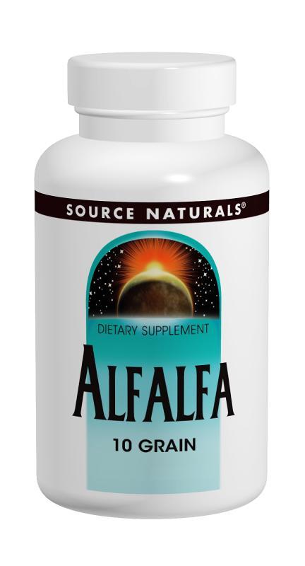 Alfalfa bottleshot