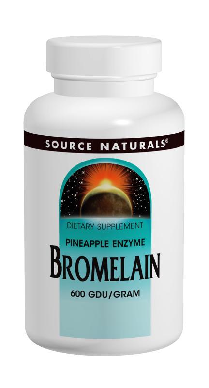 Bromelain bottleshot