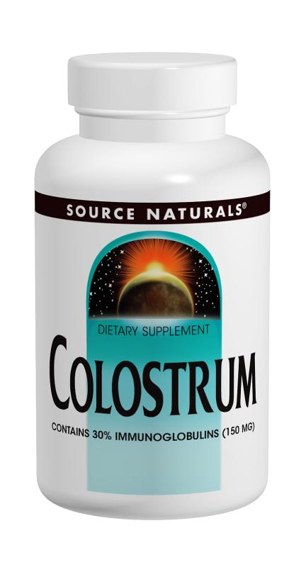 Colostrum bottleshot