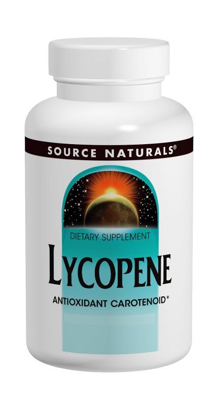 Lycopene bottleshot