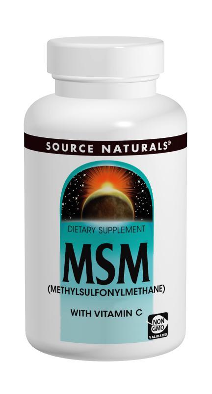 MSM with Vitamin C bottleshot