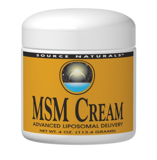 MSM Cream bottleshot