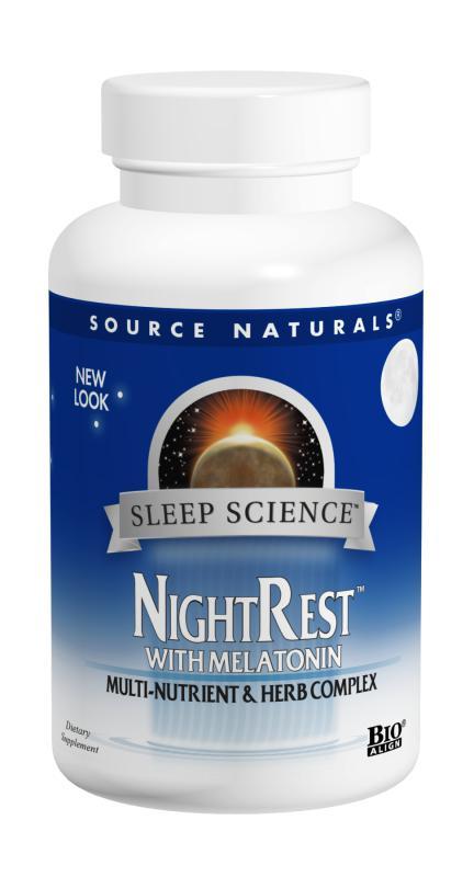 Sleep Science™ NightRest™ bottleshot