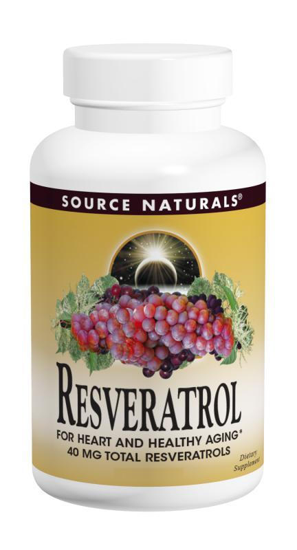 Resveratrol bottleshot