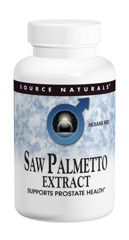 Saw Palmetto Extract bottleshot