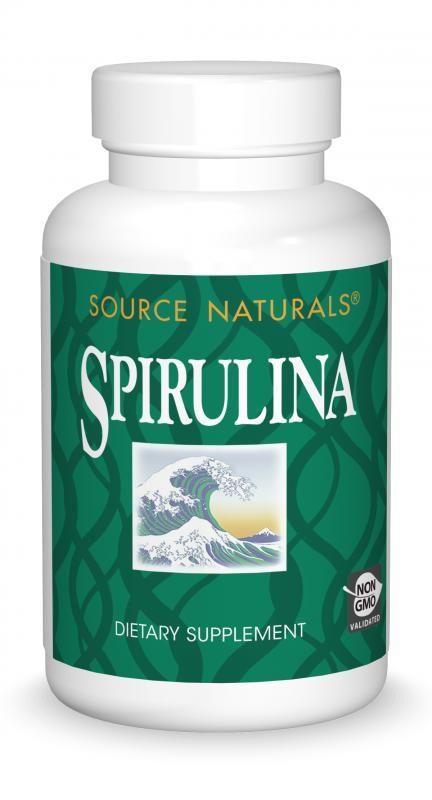 Spirulina bottleshot