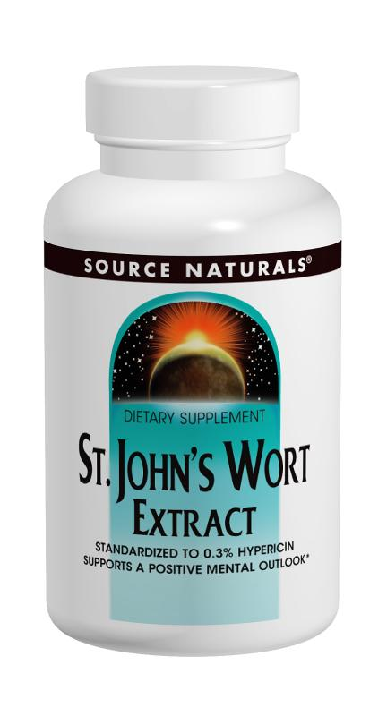 St. John's Wort Extract bottleshot