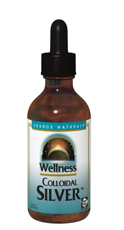 Wellness Colloidal Silver™ bottleshot