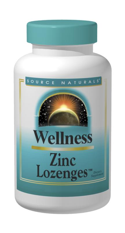 Wellness Zinc Lozenges™ bottleshot