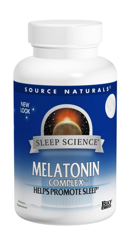 Sleep Science™ Melatonin Complex™ bottleshot