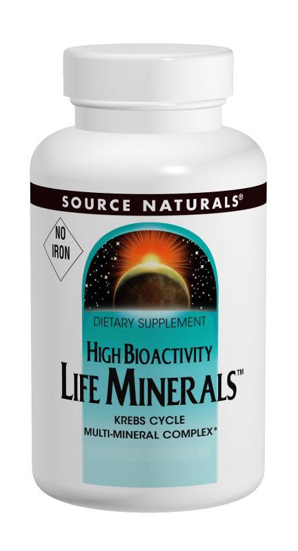 Life Minerals™, No Iron bottleshot