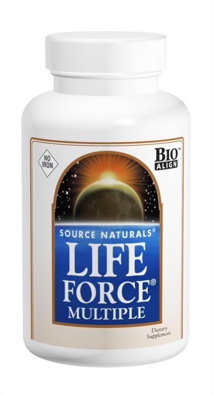 Life Force<span class='superscript'>®</span> Multiple, No Iron bottleshot