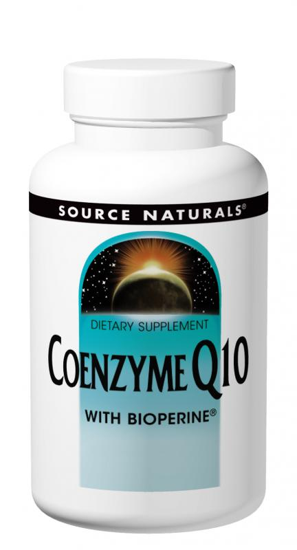 Coenzyme Q10 with BioPerine<span class='superscript'>®</span> bottleshot