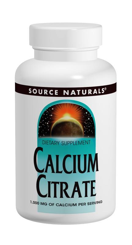 Calcium Citrate bottleshot
