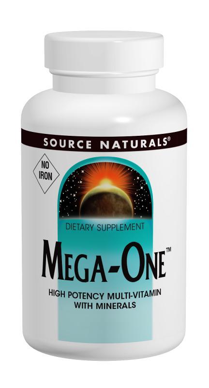 Mega-One™ Multiple, No Iron bottleshot