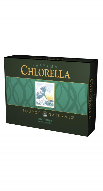 Yaeyama Chlorella bottleshot