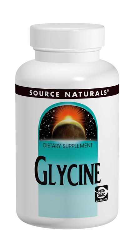 Glycine bottleshot