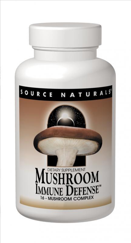 Mushroom Immune Defense™ bottleshot