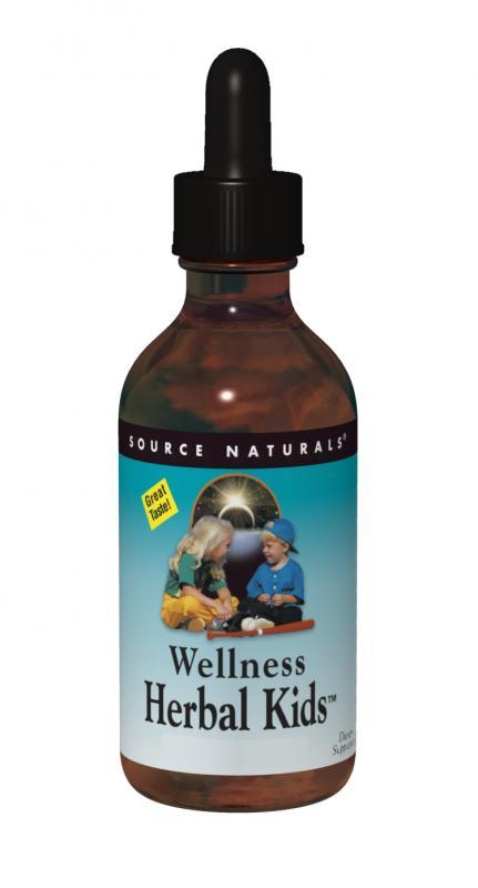 Wellness Herbal Kids™ bottleshot