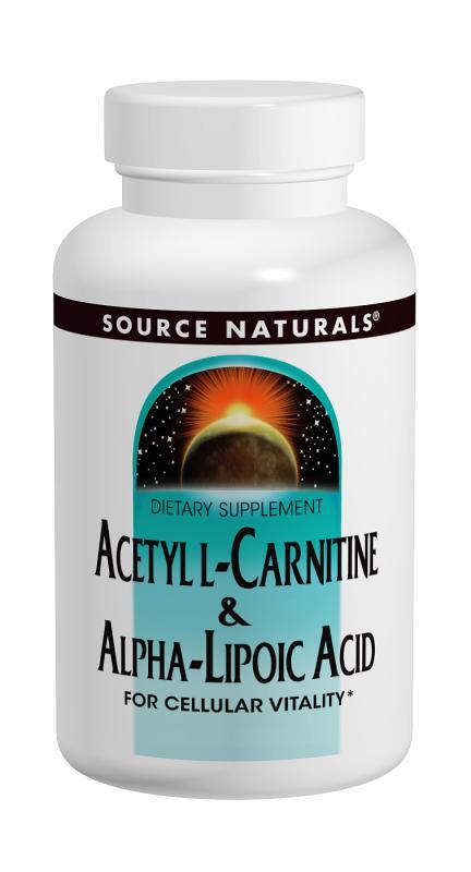 Acetyl L-Carnitine & Alpha-Lipoic Acid bottleshot