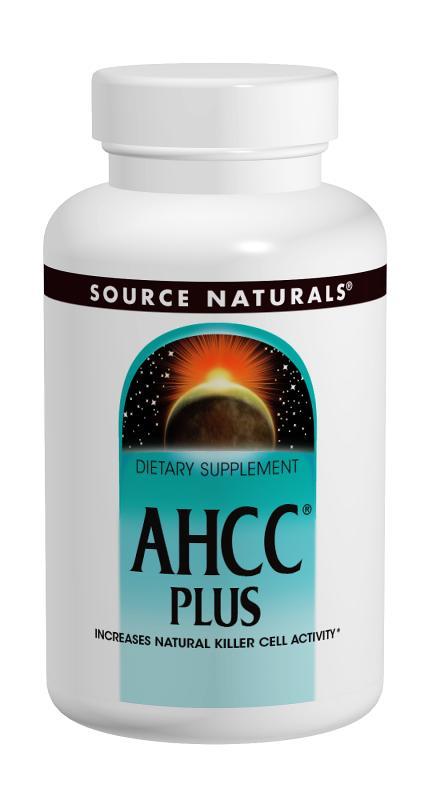 AHCC<span class='superscript'>®</span> Plus bottleshot