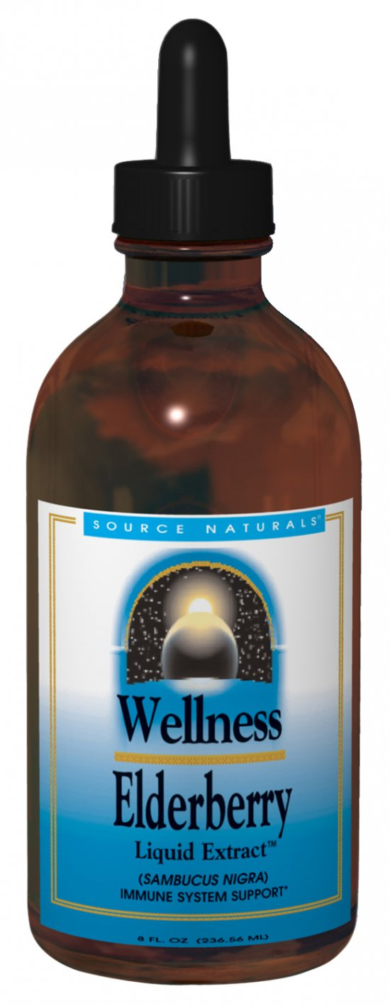 Wellness Elderberry Liquid Extract™ bottleshot