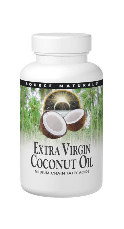 Coconut Oil (Extra Virgin) bottleshot