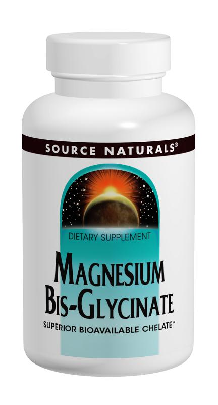 Magnesium Bis-Glycinate bottleshot