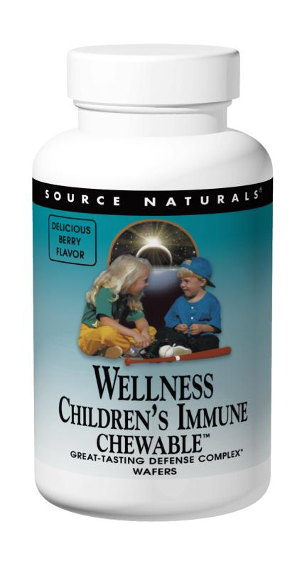 Wellness Children's Immune Chewable™ bottleshot