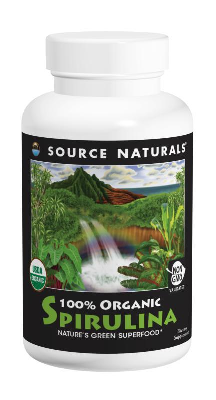Spirulina, 100% Organic bottleshot