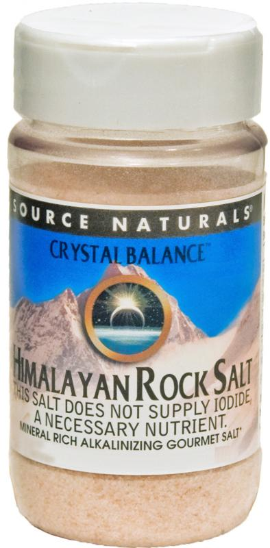 Himalayan Rock Salt by Crystal Balance™ bottleshot