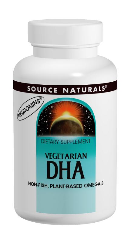 DHA, Vegetarian bottleshot