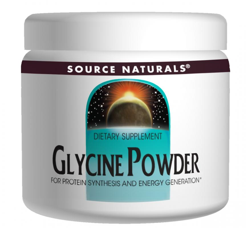 Glycine Powder bottleshot