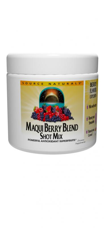 Maqui Berry Blend Shot Mix bottleshot