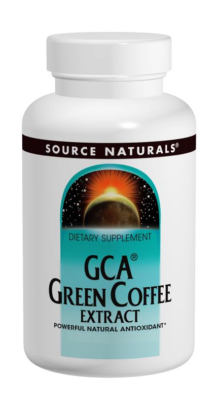 Green Coffee Extract, GCA bottleshot