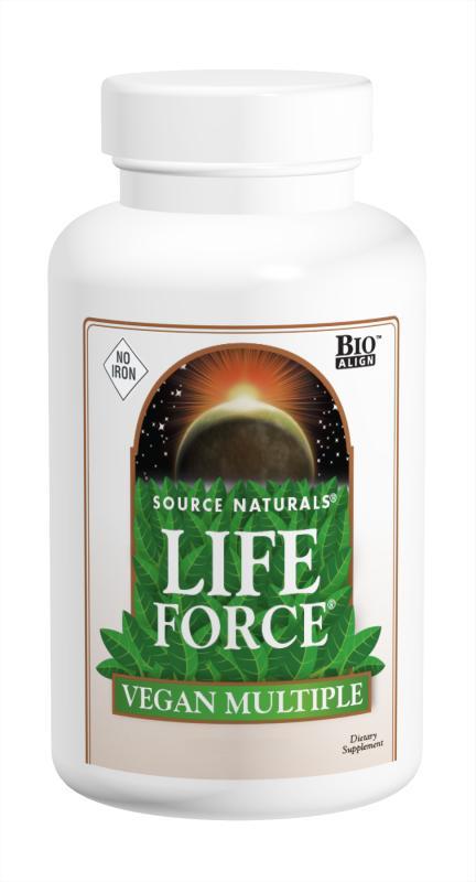 Life Force<span class='superscript'>®</span> Vegan Multiple No Iron bottleshot