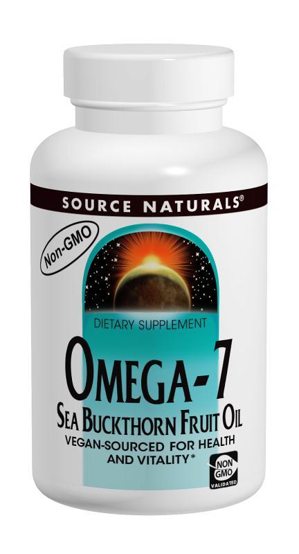 Omega-7 Sea Buckthorn Fruit Oil bottleshot