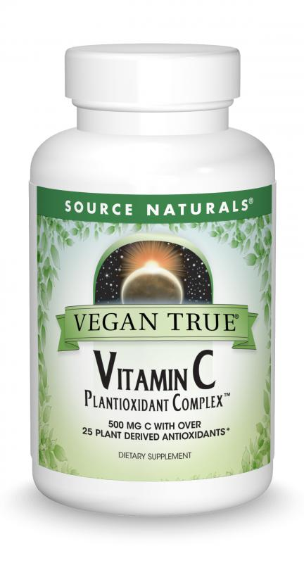 Vegan True<span class='superscript'>®</span> Vitamin C Plantioxidant Complex™ bottleshot