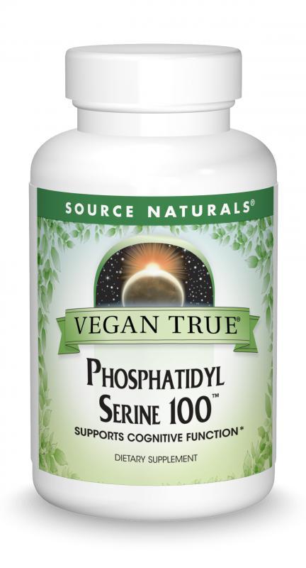 Vegan True<span class='superscript'>®</span> Phosphatidyl Serine 100™ bottleshot