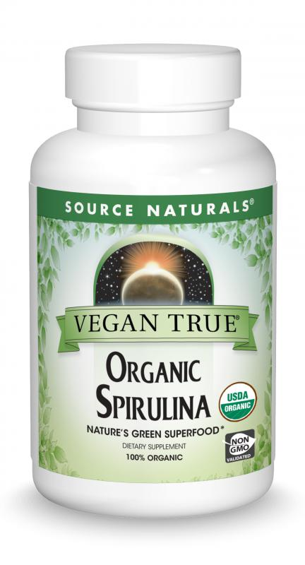 Vegan True<span class='superscript'>®</span> Organic Spirulina bottleshot