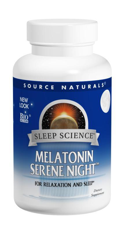 Sleep Science™ Melatonin Serene Night™ bottleshot