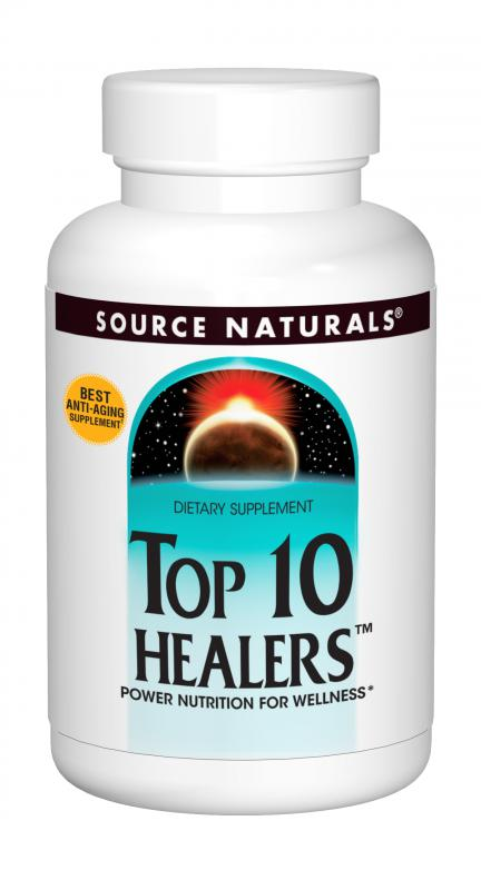 Top 10 Healers™ bottleshot