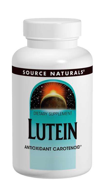 Lutein bottleshot